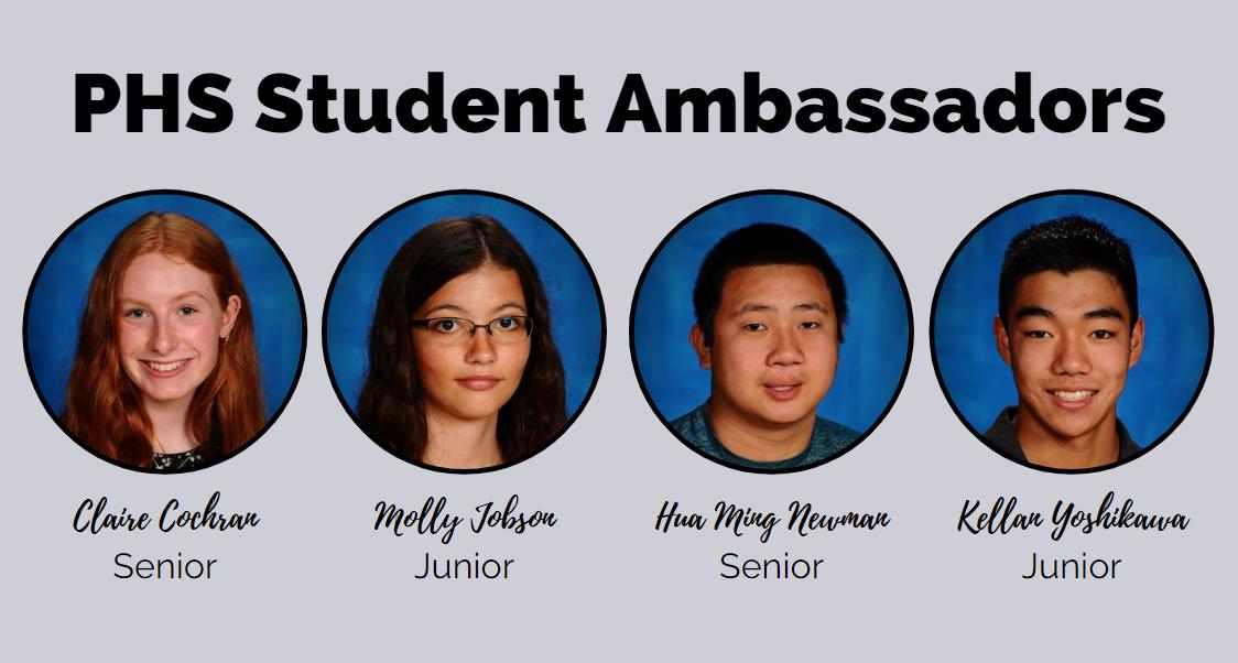 PHS Student Ambassadors