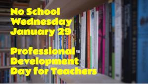 Professional Development Day 1-29-20