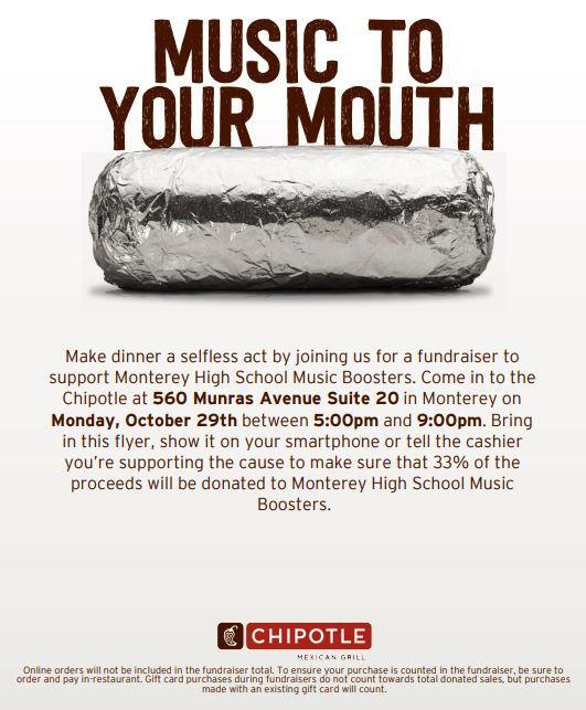 Music Boosters Fundraiser