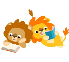Lions love to read!