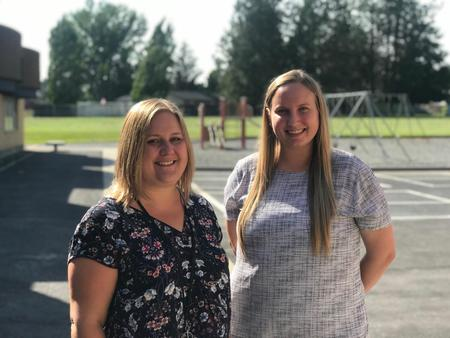 School Counselor: Mrs. Swan and her intern, Miss Wilson
