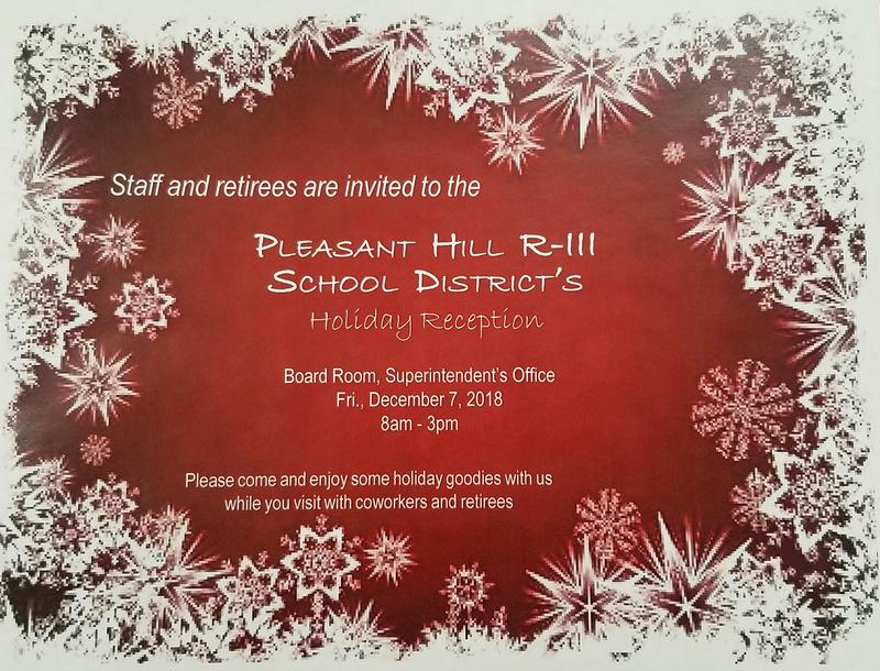 District Holiday Reception