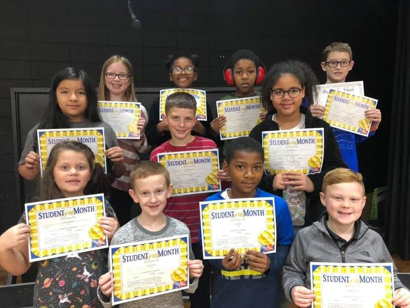 December Student of the Month Winners! Featured Photo