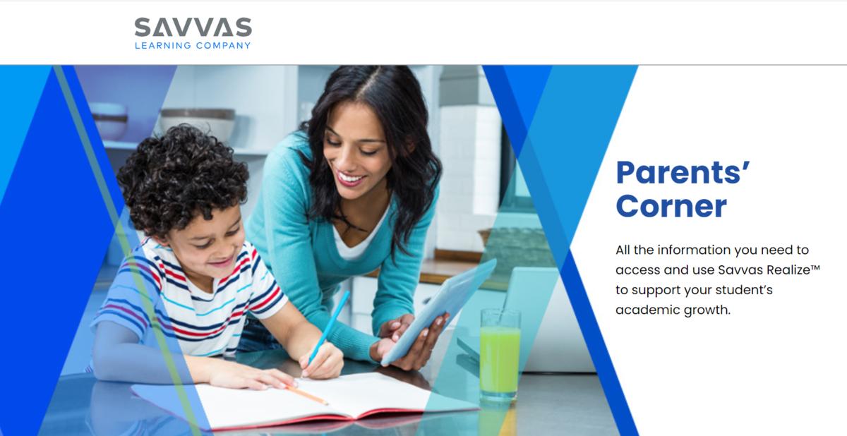 Savvas Parent Portal