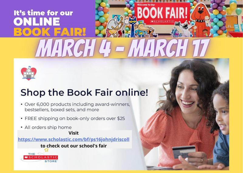 Book Fair Save the Date Flyer