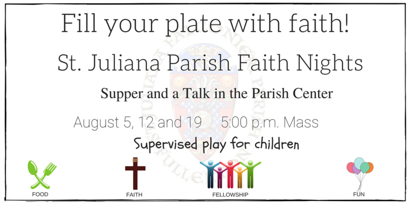 Sunday Faith Nights in August Featured Photo