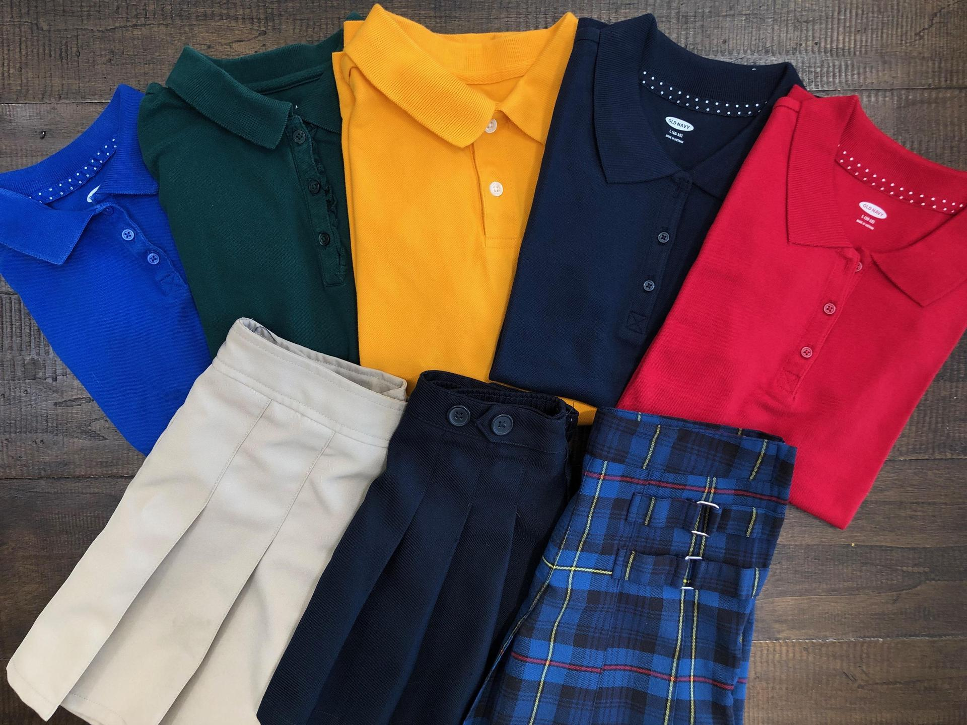 Uniform Colors Elementary School