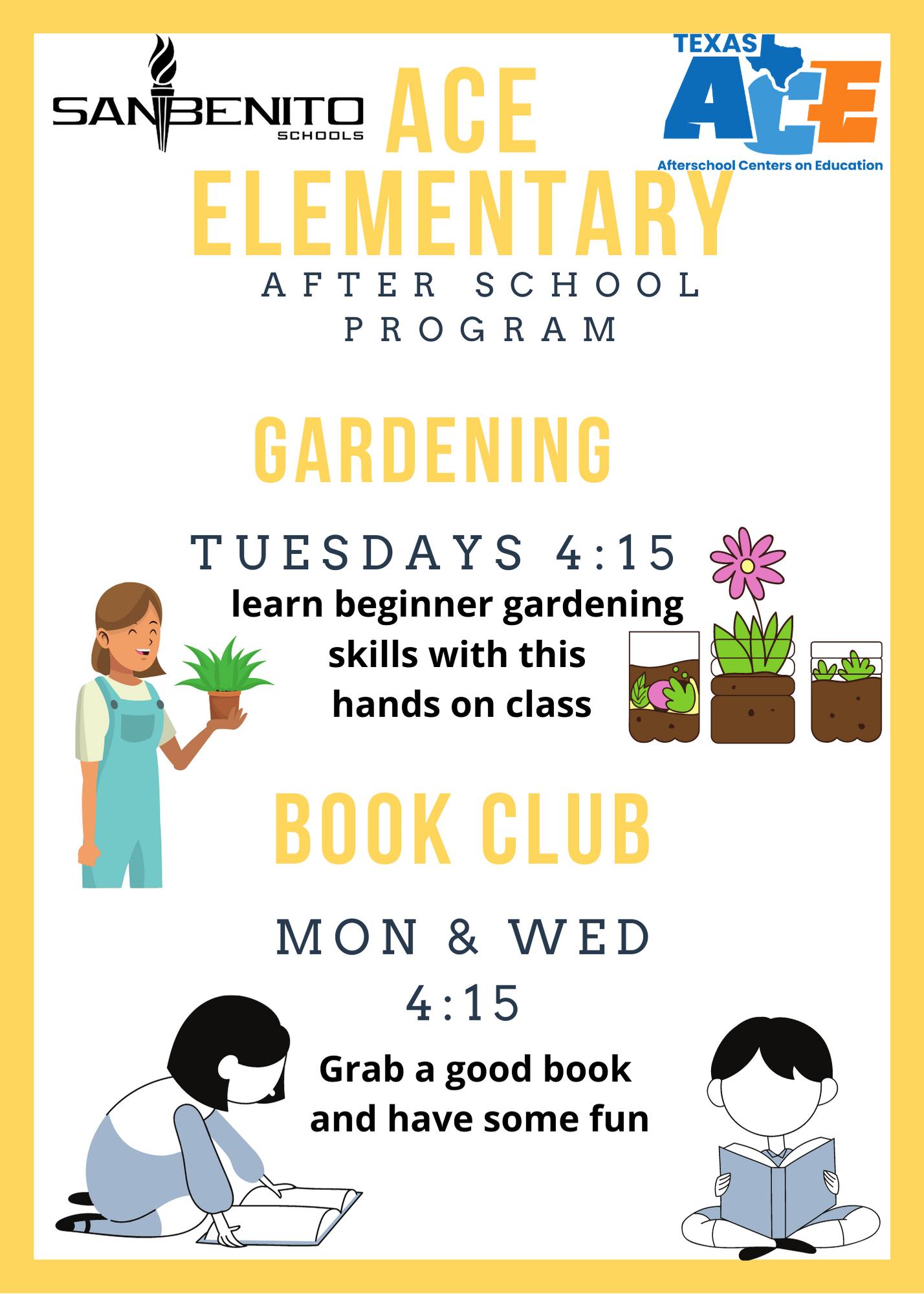 elementary book club