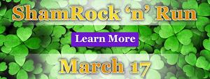 ShamRock 'n' Run - Register Now!