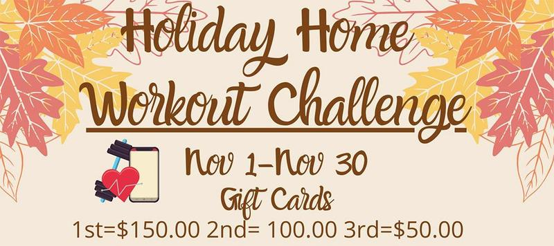 Holiday Home Workout Challenge - St. Jude Medical Center