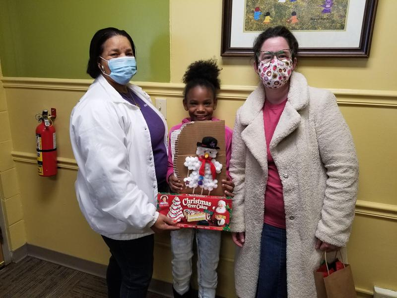 Summit Elementary's Character Count Scholars participated in the McComb Public Library Gingerbread Contest