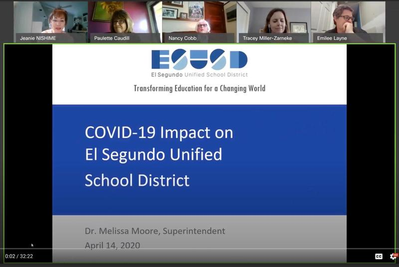 Presentation on COVID 19 Impact to ESUSD Featured Photo