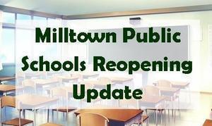 Milltown Public Schools Re-Entry Plan Featured Photo