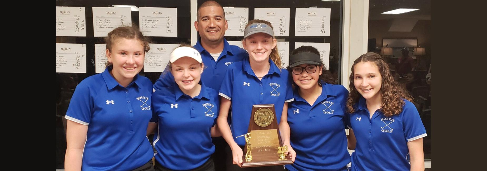Girls Golf District Champions