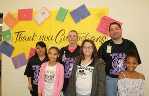 Students with Coleman custodians