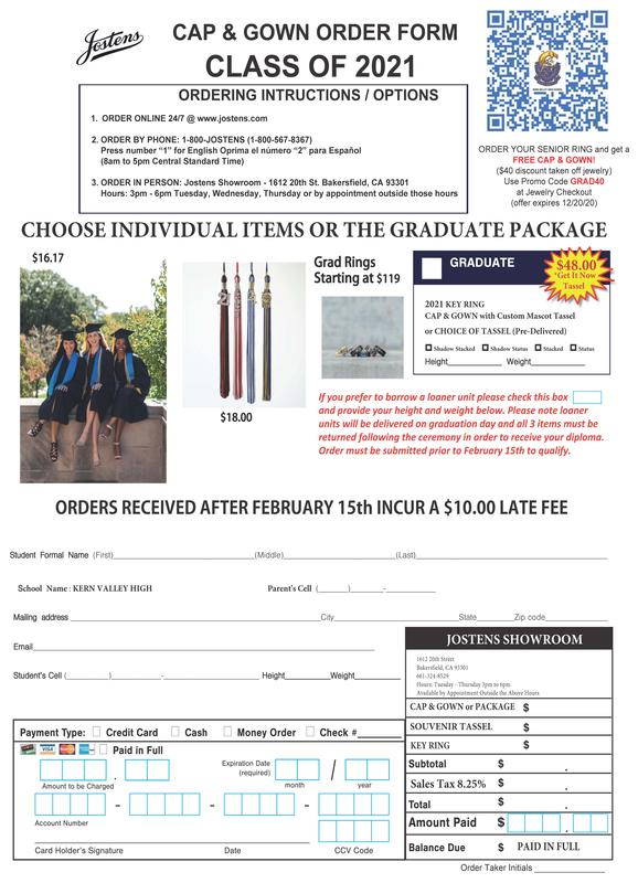 Jostens Cap and Gown Order Information Thumbnail Image