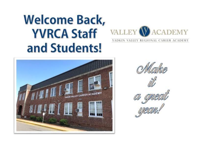 Welcome back YVRCA-Make it a great year with a picture of the school
