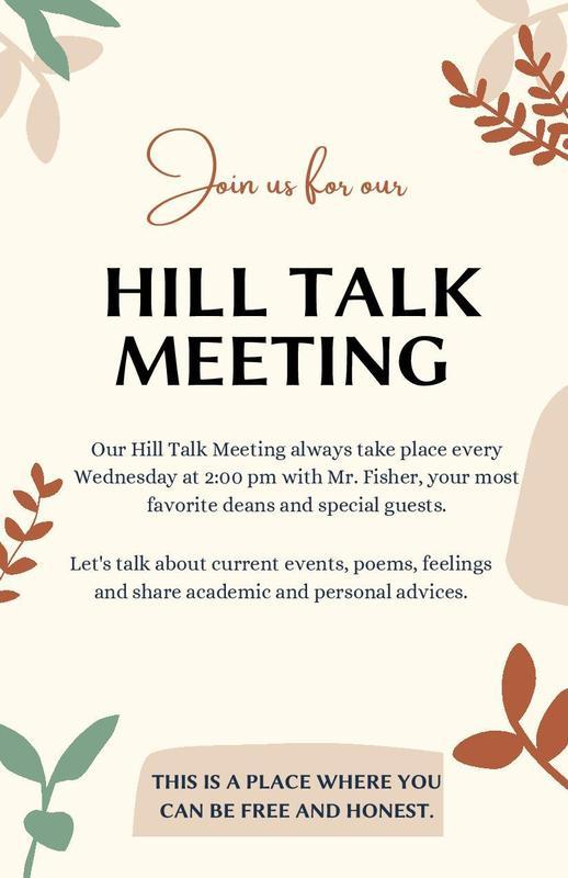 Hill Talk