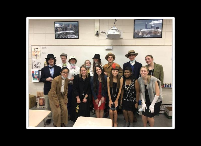 1920s day with Coach Cox