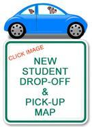 Parent Drop off and Pick up Procedures and Map