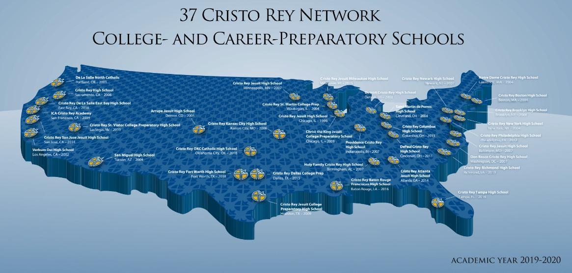 CRN 37 Schools Map