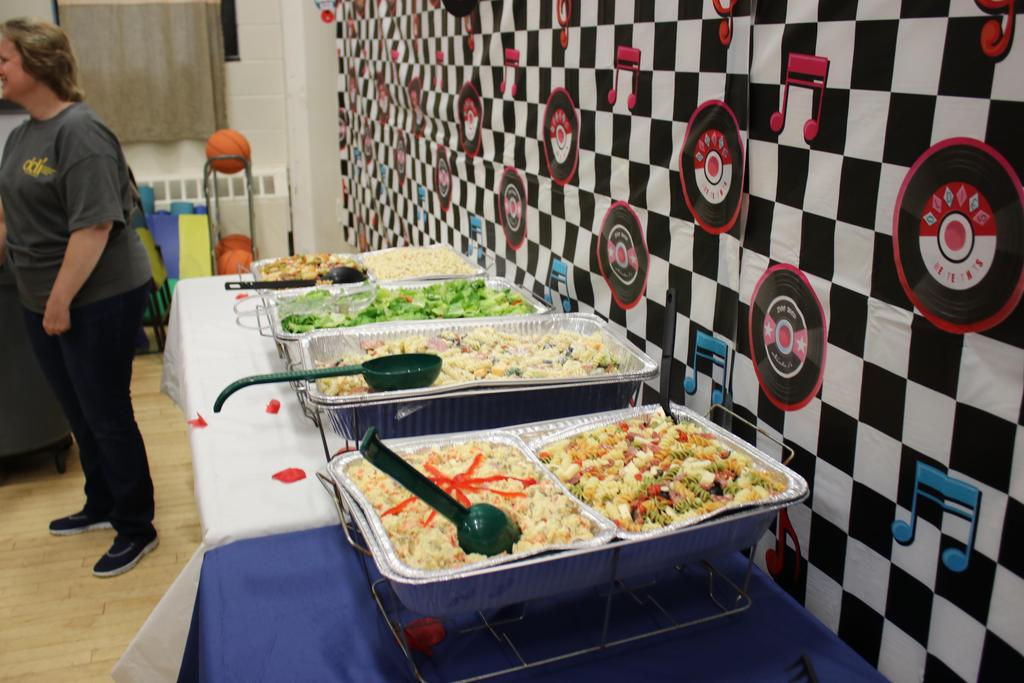 Delicious food for DSP Week luncheon