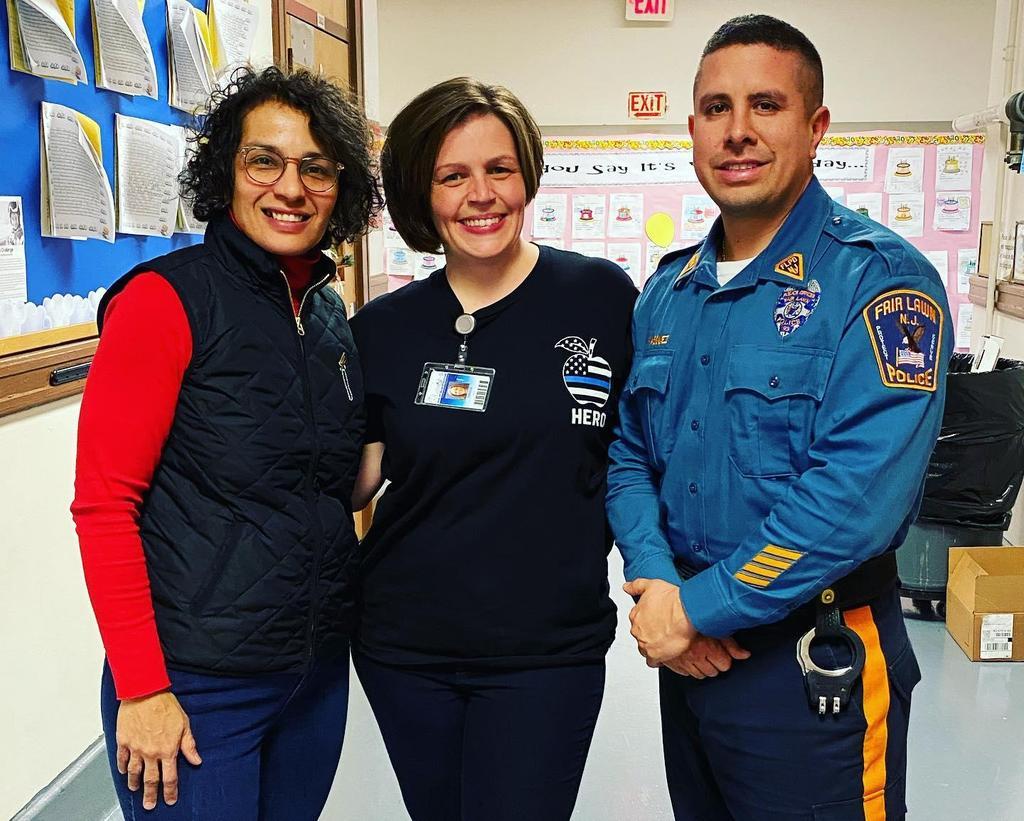 Ms. Del Gaudio, Ms. Cerullo, Officer Vasquez