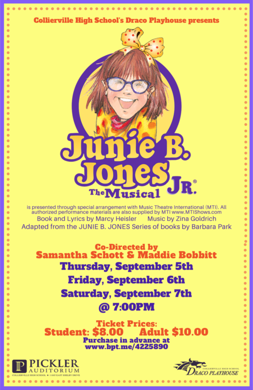 CHS Draco Playhouse Presents Junie B Jones Featured Photo