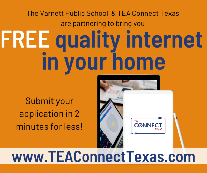 Sign up for free high-speed internet for your enrolled student at home Featured Photo