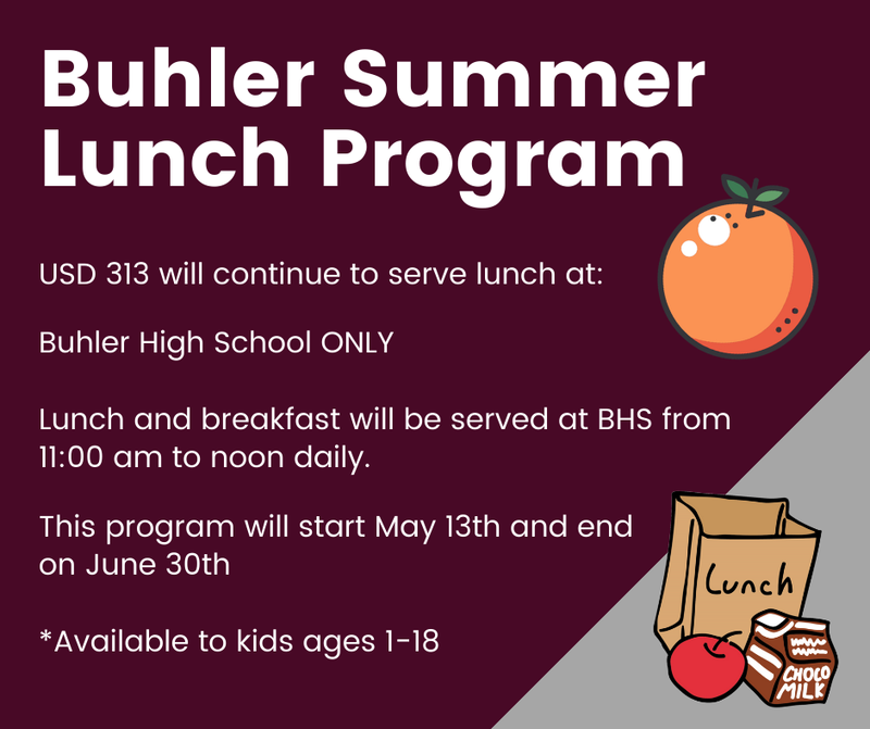 Buhler Summer Lunch Program Thumbnail Image