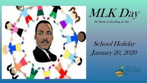MLK Day Holiday Flier
