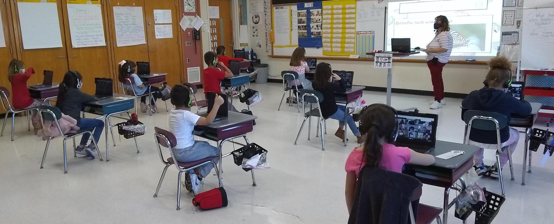 West Street Elementary School classroom