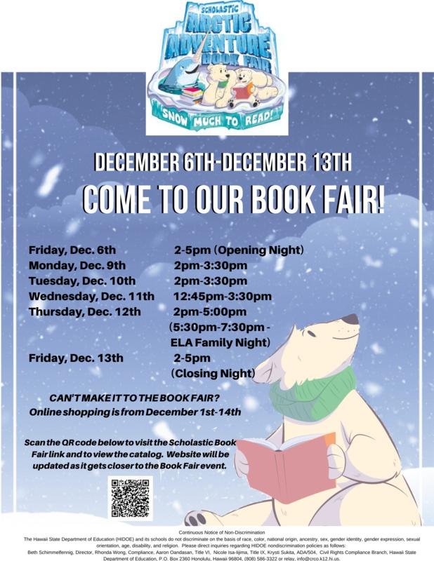 December Book Fair, Dec 6th-13th Thumbnail Image