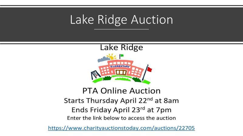 Lake Ridge Auction