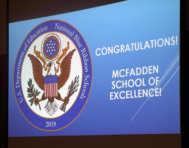McFadden Named 2019 National Blue Ribbon School Thumbnail Image