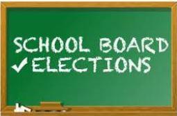 Elections written on Chalk Board