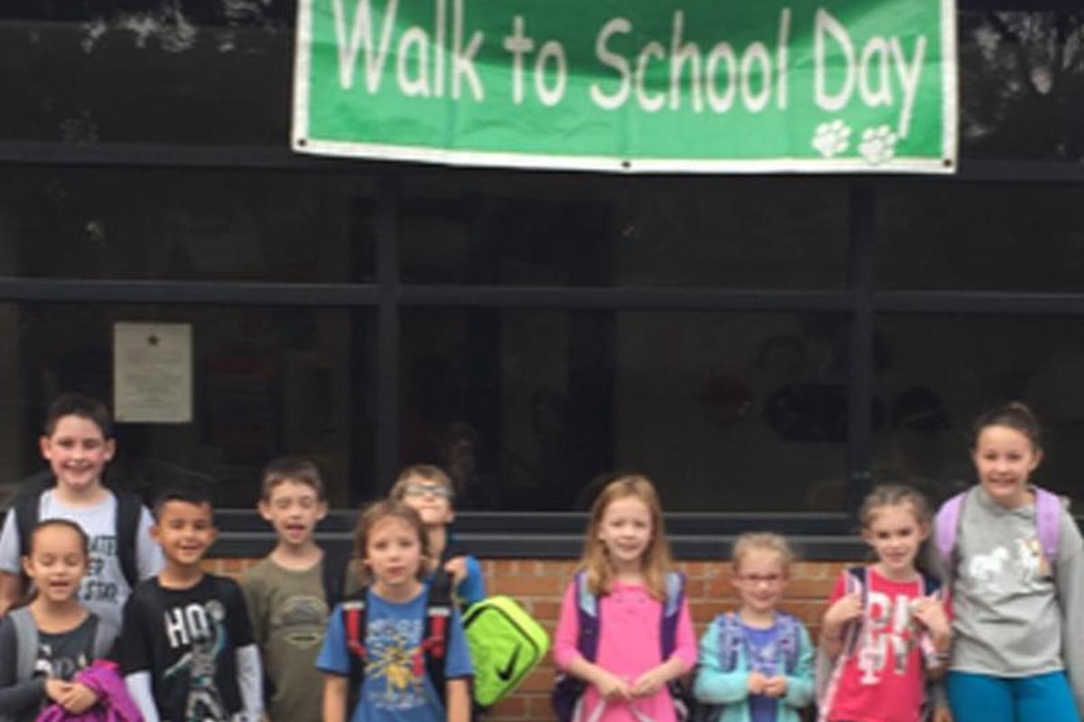 Southwest Celebrates Walk to School Day Thumbnail Image