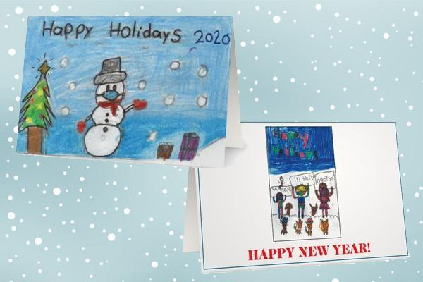 Holiday Card Design Contest winners selected Thumbnail Image