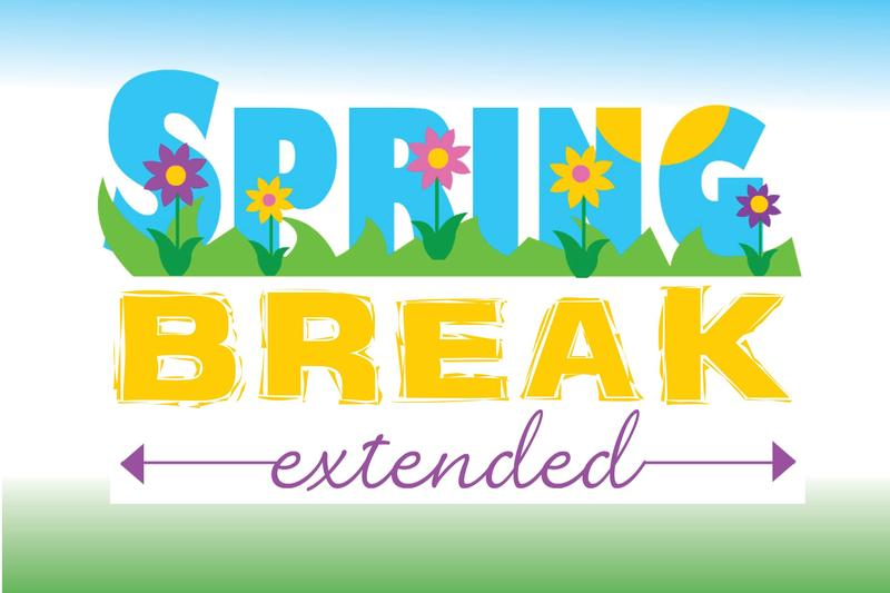 Spring Break extended with flowers