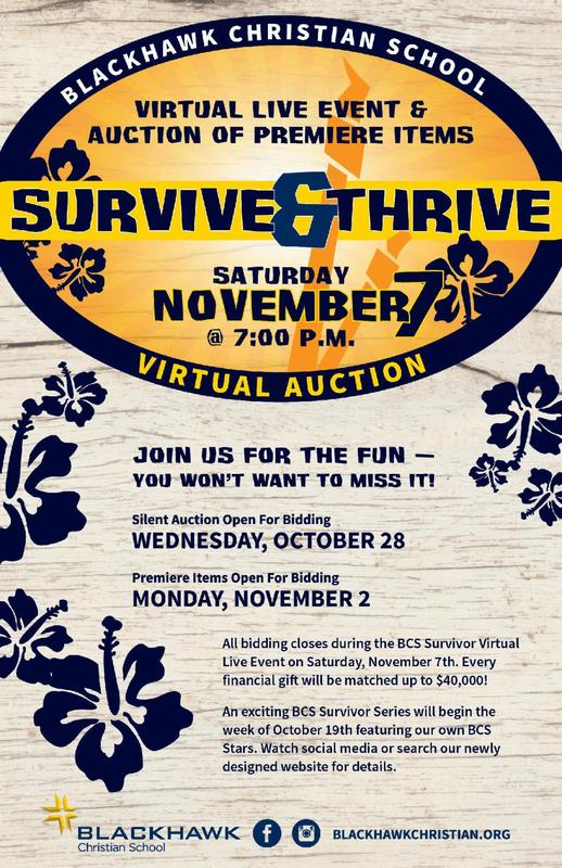 Survive and Thrive Virtual Auction Featured Photo