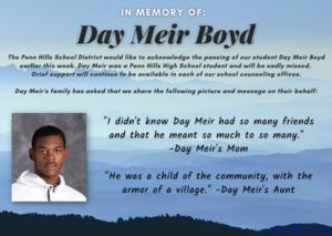 Tribute for Day Meir Boyd