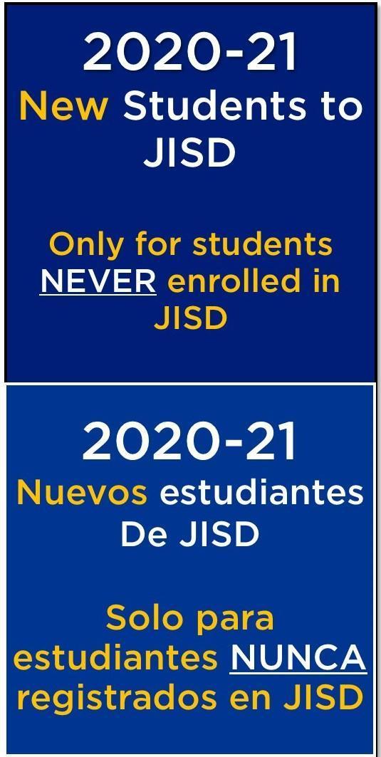 logo for registration for new students