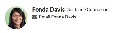 Email Mrs. Davis