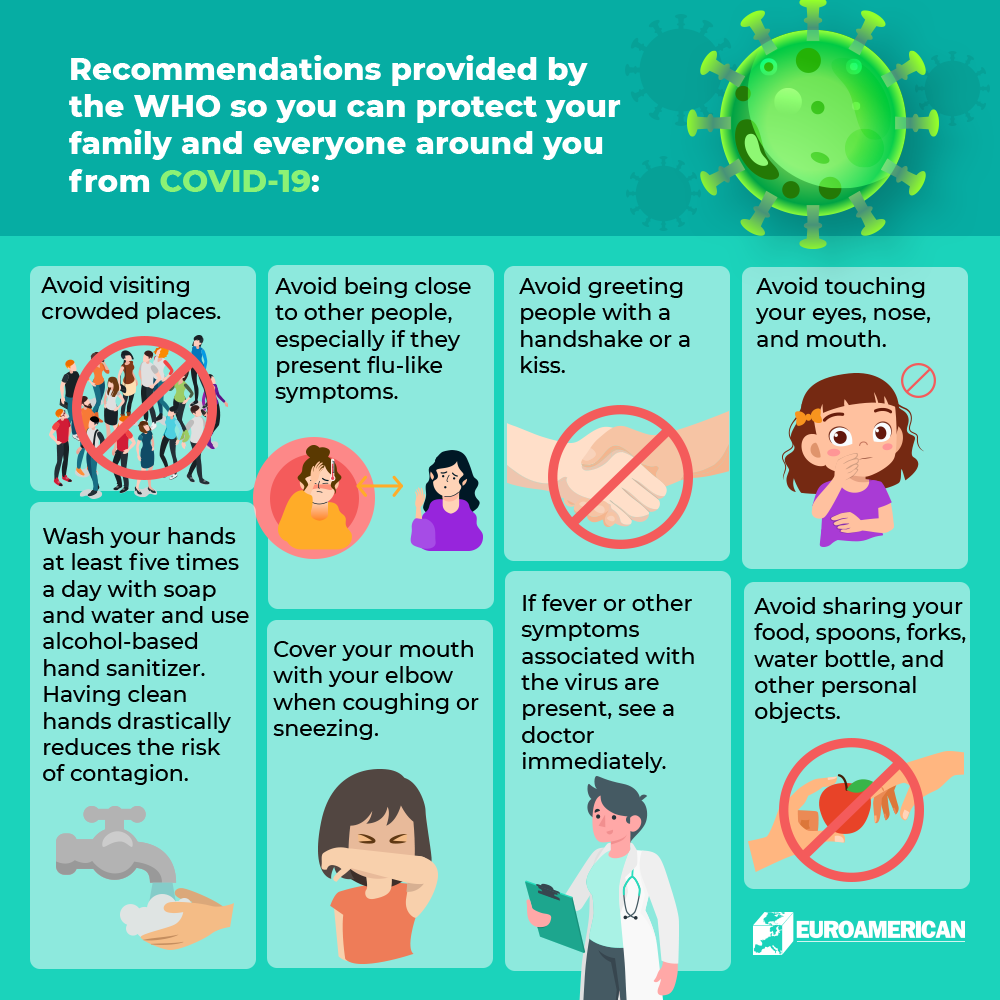 COVID-19 Health Recommendations
