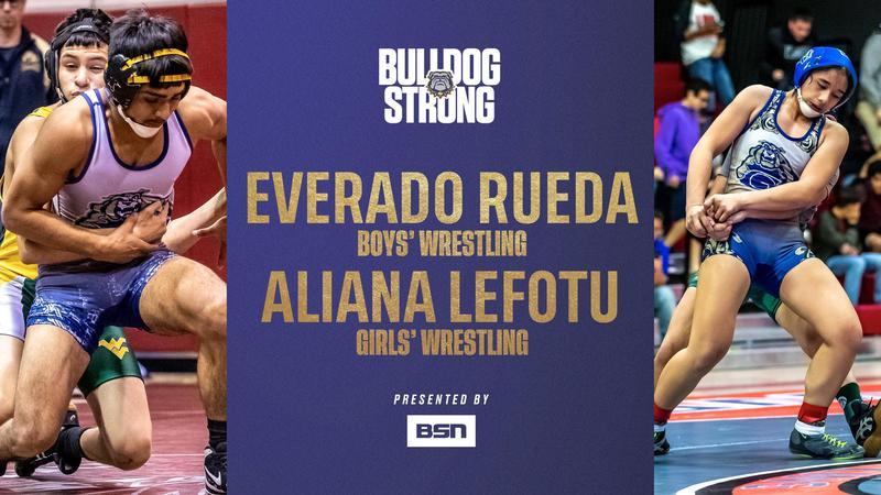 #BulldogSTRONG Student Spotlight: Aliana Lefotu and Everardo Rueda Thumbnail Image