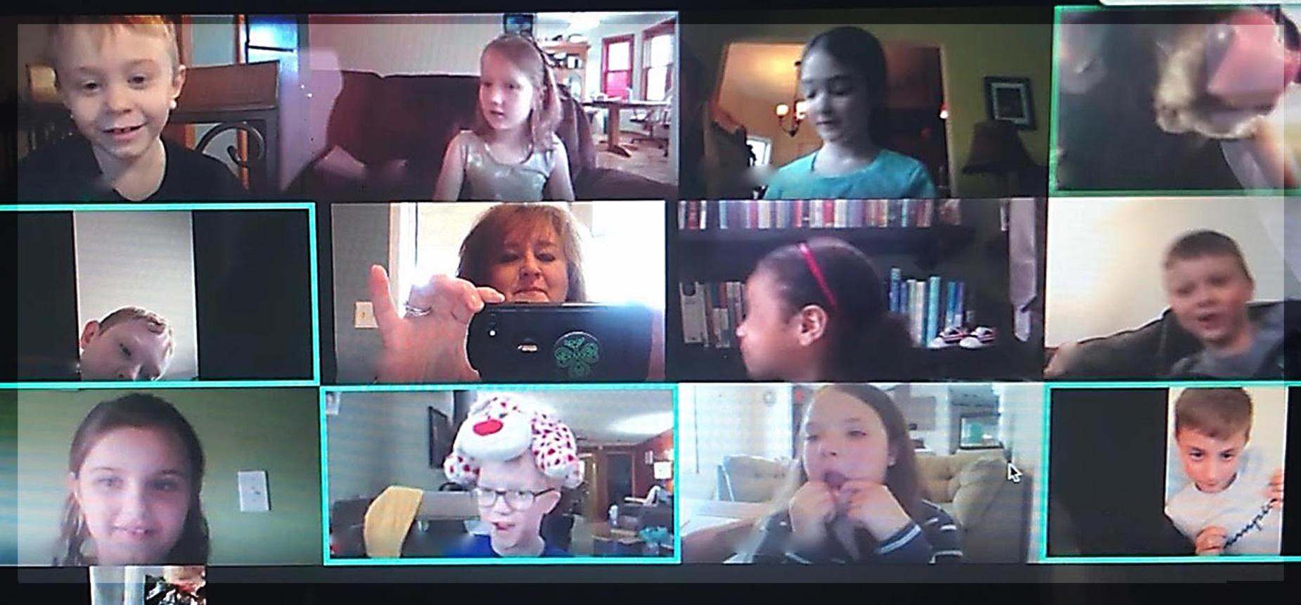 Mrs. Bailey's virtual classroom