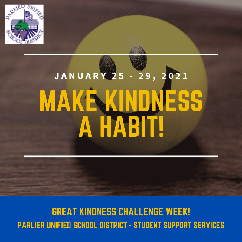 GREAT KINDNESS CHALLENGE WEEK!!! Featured Photo