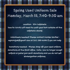Used Uniform Sale Spring 2021.png