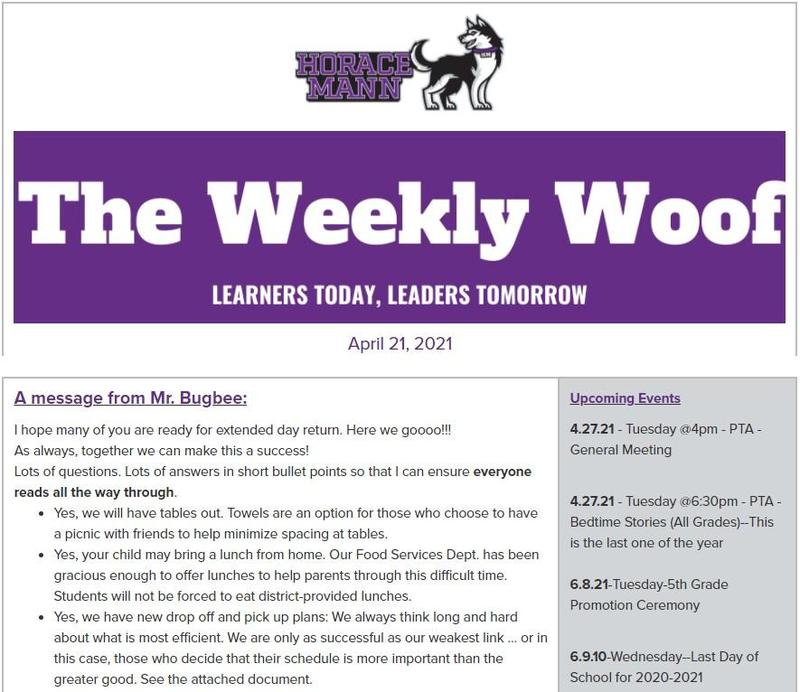 The Weekly Woof Newsletter