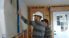 Adult Ed Construction Students